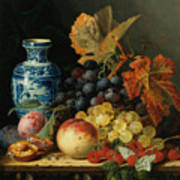 Still Life With Rasberries Poster