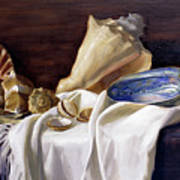 Still Life With Shells Poster