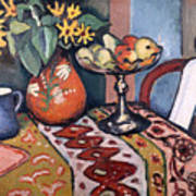 Still Life With Sunflowers II Poster