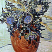 Still Life With Thistles Poster by Vincent van Gogh