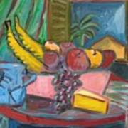 Still Life with Window Poster