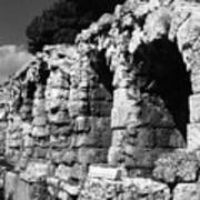 Stoa of Eumenes Athens Poster
