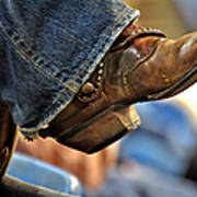 Stock Show Boots I Poster