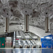 Stockholm Metro Art Collection - 004 Poster