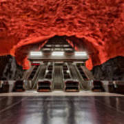 Stockholm Metro Art Collection - 014 Poster