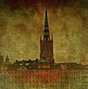 Stockholm Painting V Poster