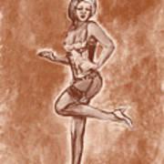 Stockings And Stilettos  Poster