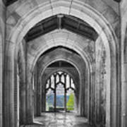 Stone Archways Poster