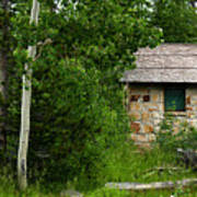 Stone Outhouse 2 Poster