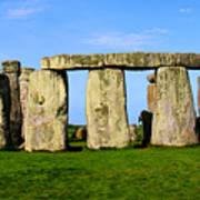 Stonehenge No 2 Poster