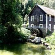 Stony Brook Gristmill And Museum Poster