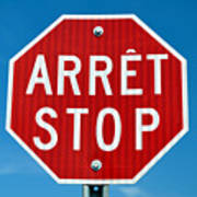 Stop Sign. Poster