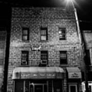 Store At Night Poster