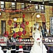 Store Front Wedding Poster