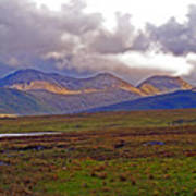 Storm Clouds Ahead In Connemara Poster