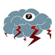 Storm Eye Poster