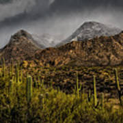 Storm Over Catalinas 15 Poster