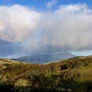 Storm Passing Over Morgan Territory Poster