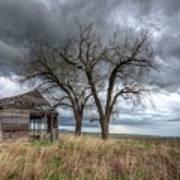 Storm Sky Barn Poster
