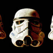 Stormtrooper 1-3 Weathered Poster