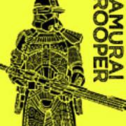 Stormtrooper - Yellow - Star Wars Art Poster