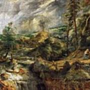 Stormy Landscape -  1625 Peter Paul Rubens Poster