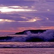 Stormy Ocean Panoramic  Poster