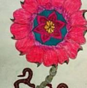 Strange Flower Poster