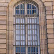Strasbourg Window 08 Poster
