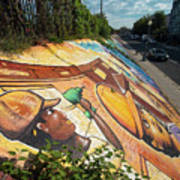 Street Art At Washington D.c. - Cultivating The Rebirth 3 Poster