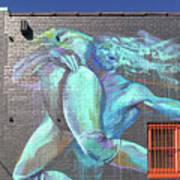 Street Art In Charleston Poster