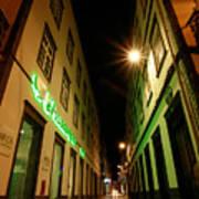 Street In Ponta Delgada Poster