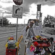 Street Jester Poster