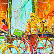 Street Of Amsterdam - Four Girls Poster