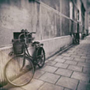 Street Photo Bicycle Poster