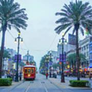 Street Scene, New Orleans Poster