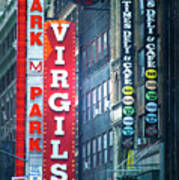 Street Signs Of New York Poster