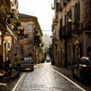 Streets Of Italy - Citta Sant Angelo 2 Poster