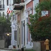 Streets Of Old San Juan Poster