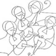 String Quartet Poster