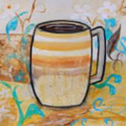 Stripped Mug Poster