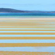 Stripy Shores Poster