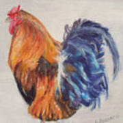 Strutting Rooster Poster