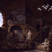 Studio Of An Antiquities Poster