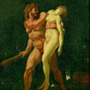 Study For Hercules And Alcestis Poster
