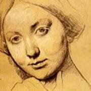 Study For Vicomtesse D Hausonville Born Louise Albertine De Broglie Poster