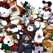 Stuffed Animals Poster