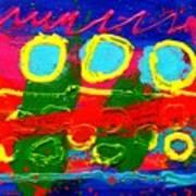 Sub Aqua IIi - Triptych Poster by John  Nolan