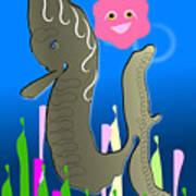 Submerged World Poster