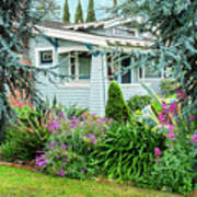 Suburban House Hayward, California 7, Suburbia Series Poster